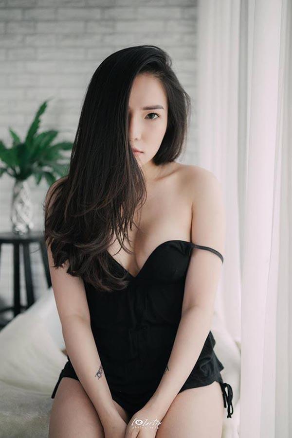 Loạt hình lột xác gợi cảm của vợ cũ Lâm Vinh Hải - Ảnh 9.