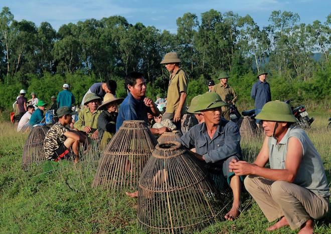 Cả làng hú lớn, tay nơm tay lưới ào xuống vực đánh cá Đồng Hoa - Ảnh 9.