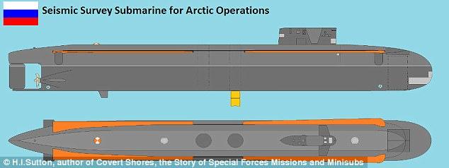 Nga đóng tàu ngầm khổng lồ có cánh lớn gấp hai lần máy bay phản lực - Ảnh 2.
