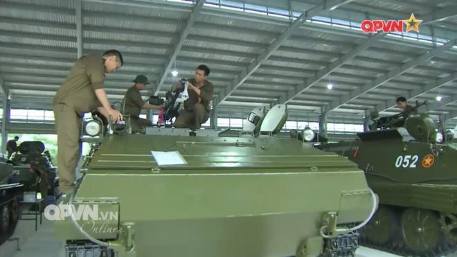 Phương án chế tạo pháo phản lực phóng loạt tự hành từ xe thiết giáp K-63 lưu kho - Ảnh 1.