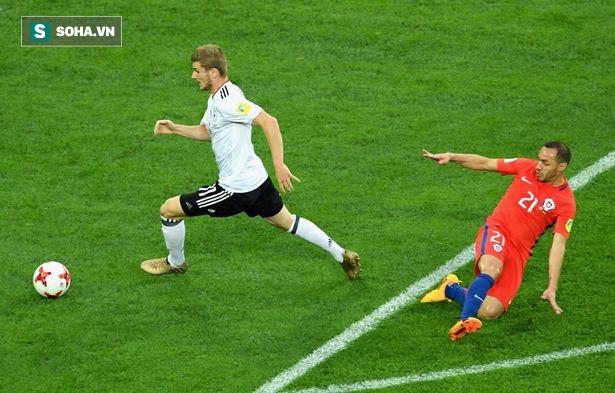 Vô địch Confed Cup, người Đức phải đối mặt với