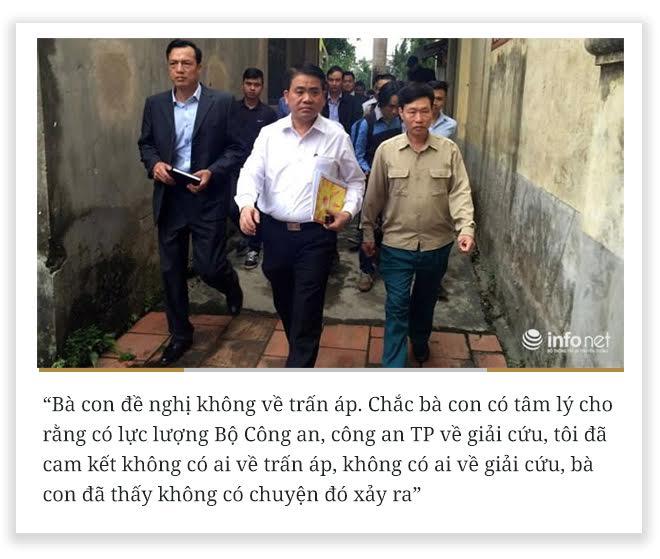 10 phát ngôn vụ Đồng Tâm của Chủ tịch HN Nguyễn Đức Chung - Ảnh 1.