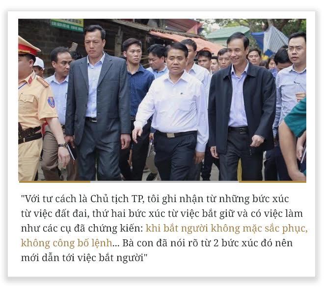 10 phát ngôn vụ Đồng Tâm của Chủ tịch HN Nguyễn Đức Chung - Ảnh 4.