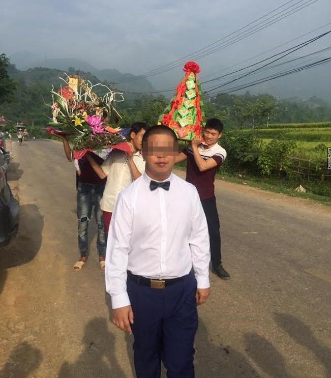 Đám cưới cô dâu 15 tuổi ở Sơn La lấy chồng Trung Quốc diễn ra trong 3 tiếng, xã không biết 2