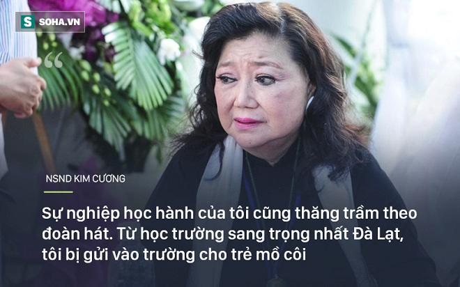 Bi kịch cuộc đời NSND Kim Cương: Cha bị đuổi không cho chết trong rạp hát, uất ức khi con trai bị bắt cóc - Ảnh 1.