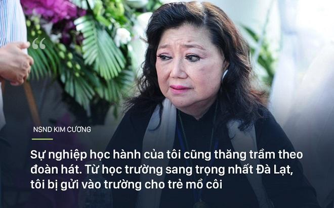 Bi kịch cuộc đời NSND Kim Cương: Cha bị đuổi không cho chết trong rạp hát, uất ức khi con trai bị bắt cóc - Ảnh 1