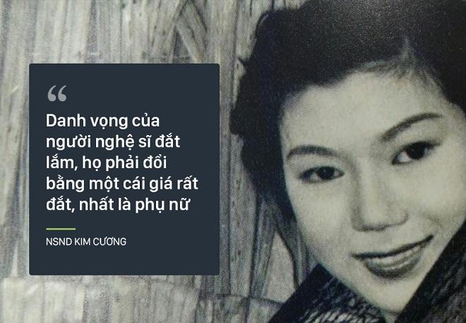 Bi kịch cuộc đời NSND Kim Cương: Cha bị đuổi không cho chết trong rạp hát, uất ức khi con trai bị bắt cóc - Ảnh 4