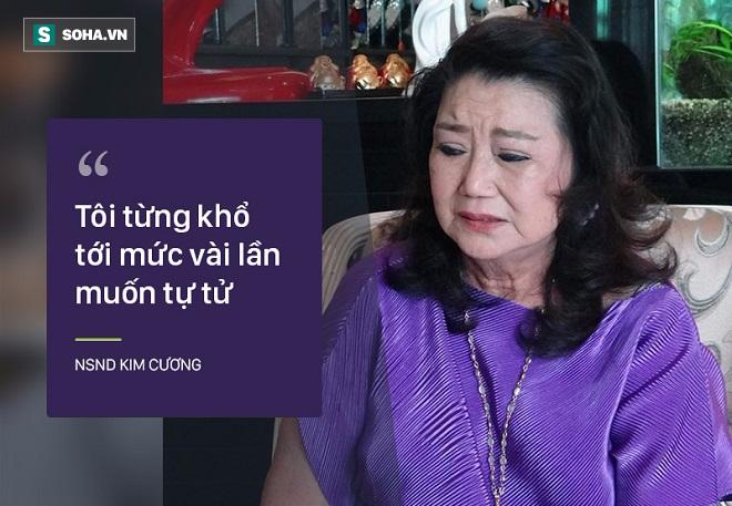 Bi kịch cuộc đời NSND Kim Cương: Cha bị đuổi không cho chết trong rạp hát, uất ức khi con trai bị bắt cóc - Ảnh 6.
