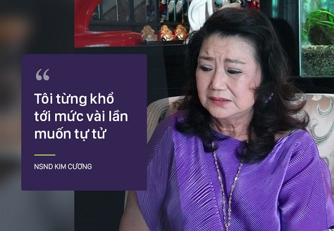 Bi kịch cuộc đời NSND Kim Cương: Cha bị đuổi không cho chết trong rạp hát, uất ức khi con trai bị bắt cóc - Ảnh 6