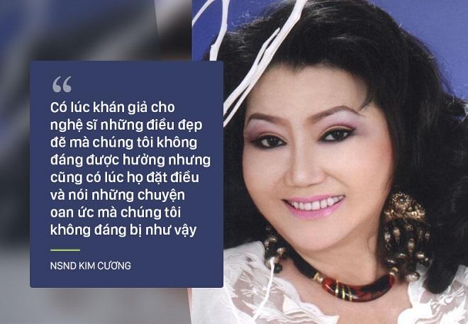 Bi kịch cuộc đời NSND Kim Cương: Cha bị đuổi không cho chết trong rạp hát, uất ức khi con trai bị bắt cóc - Ảnh 3