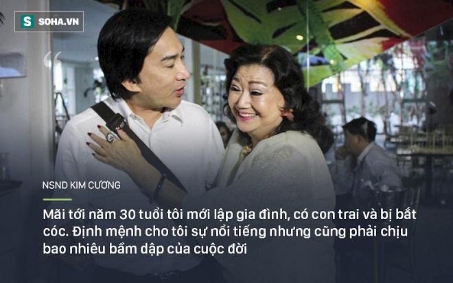 Bi kịch cuộc đời NSND Kim Cương: Cha bị đuổi không cho chết trong rạp hát, uất ức khi con trai bị bắt cóc - Ảnh 5.