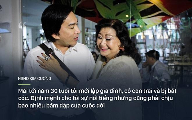 Bi kịch cuộc đời NSND Kim Cương: Cha bị đuổi không cho chết trong rạp hát, uất ức khi con trai bị bắt cóc - Ảnh 5