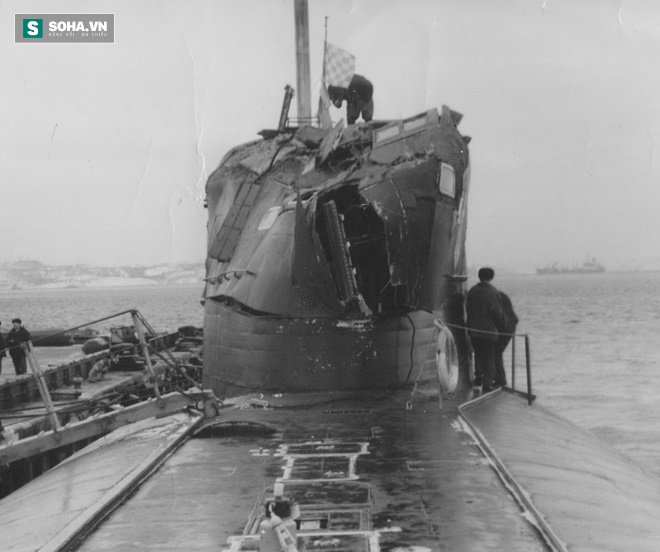 Chiến công kỳ lạ: Tàu ngầm hạt nhân Nga tiêu diệt tàu Mỹ mà không tốn một viên đạn - Ảnh 1.