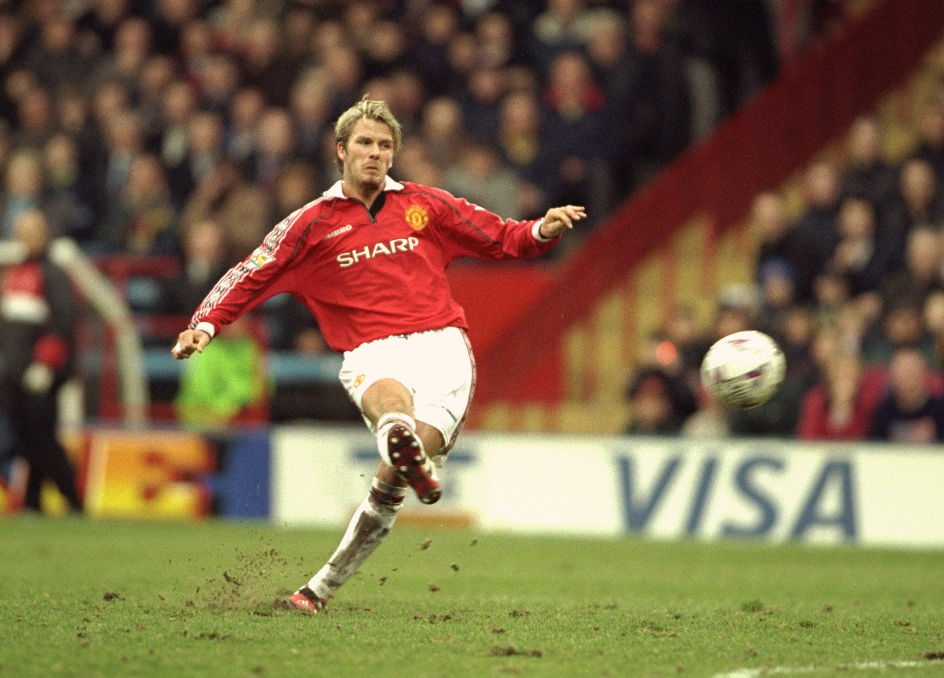 Các bàn thắng của David Beckham trong màu áo Manchester United