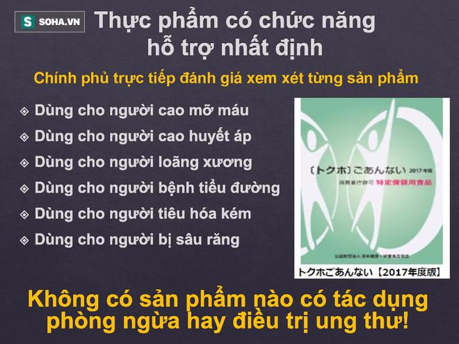 """Chính phủ Nhật cấm ghi chức năng, về Việt Nam hô biến thành thần dược """"dụ tế bào ung thư vào chỗ chết""""! - Ảnh 4."""