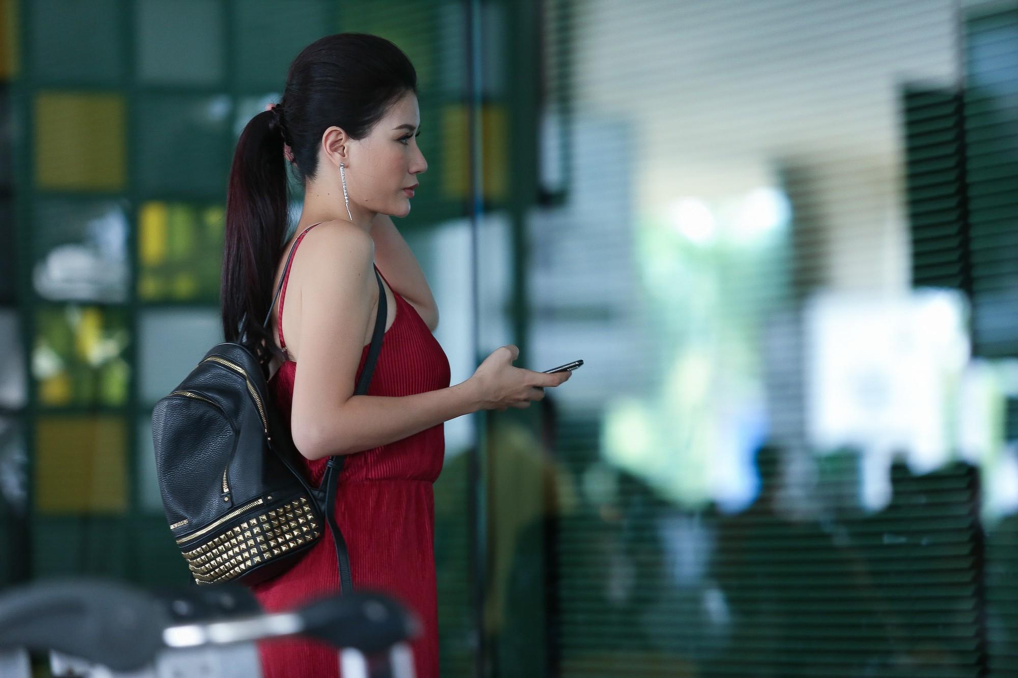 Trang Trần công khai, thể hiện tình cảm với chồng