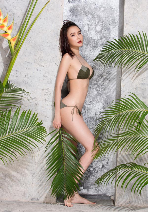 Lỗi hài hước gây cười trong bộ ảnh bikini nóng bỏng của Dương Yến Ngọc - Ảnh 7.