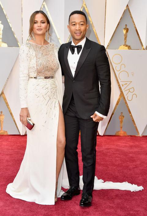 Thảm đỏ Oscar 2017: Mỹ nhân 50 Sắc Thái mờ nhạt dù mặc toàn đồ hiệu - Ảnh 5.