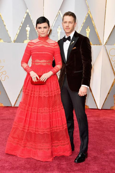 Thảm đỏ Oscar 2017: Mỹ nhân 50 Sắc Thái mờ nhạt dù mặc toàn đồ hiệu - Ảnh 6.