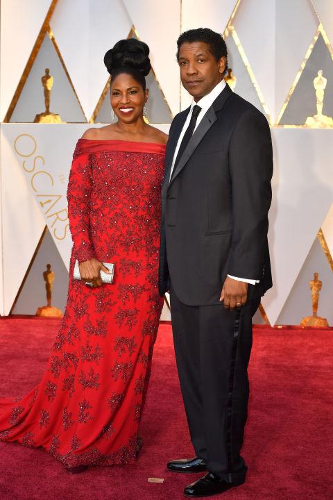 Thảm đỏ Oscar 2017: Mỹ nhân 50 Sắc Thái mờ nhạt dù mặc toàn đồ hiệu - Ảnh 36.