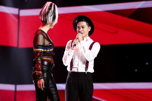 Giám khảo sửng sốt trước thí sinh nam hát giọng nữ, dám đấu giọng với Thu Minh - Ảnh 3.