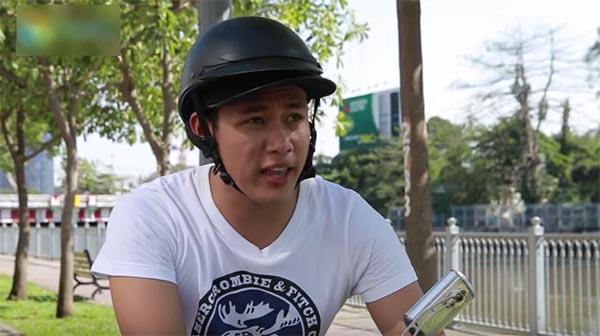Hot boy trà sữa Lê Tấn Lợi đi đóng clip hài, có hẳn quản lý riêng - Ảnh 1.