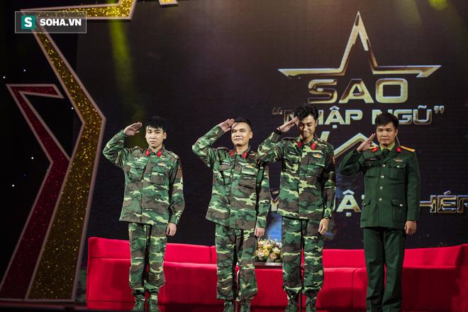 Quốc Thiên mình trần, biểu diễn khí công với chiến sĩ đặc công - Ảnh 5.