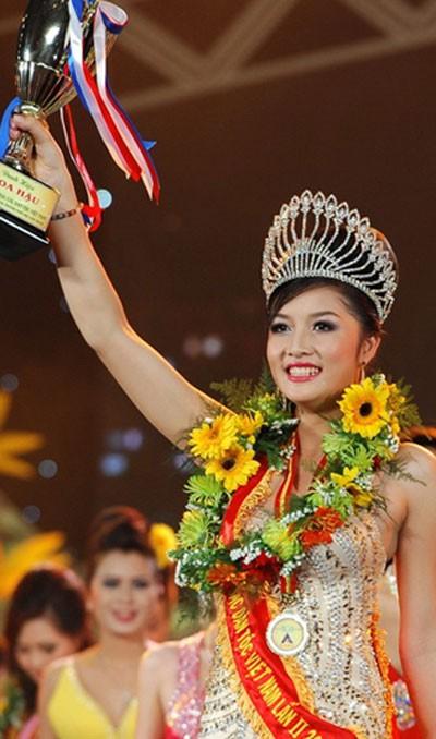 Cuộc sống của Hoa hậu Việt đầu tiên trả lại vương miện - Ảnh 1.