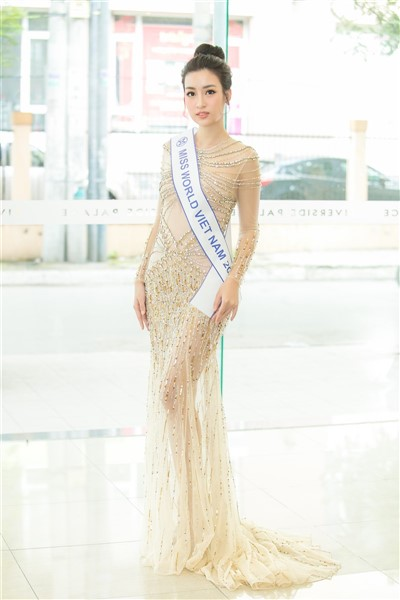 Đỗ Mỹ Linh đặt mục tiêu lọt Top 5 Hoa hậu Thế giới - Ảnh 2.