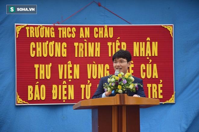 Thư viện vùng quê cho trường THCS An Châu - Thái Bình - Ảnh 6.