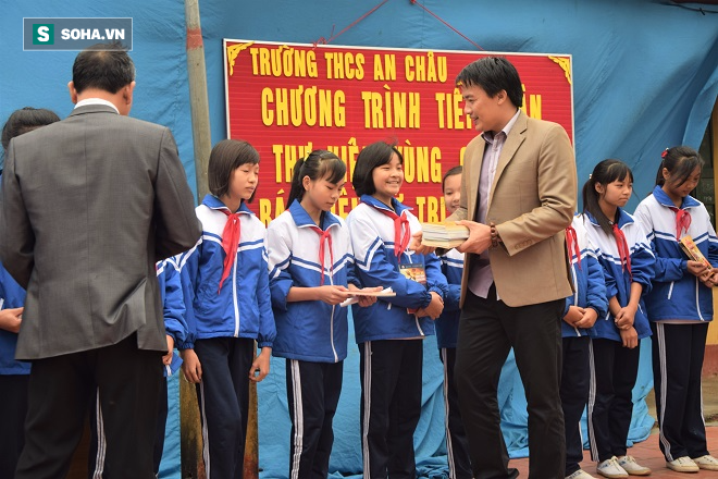 Thư viện vùng quê cho trường THCS An Châu - Thái Bình - Ảnh 4.
