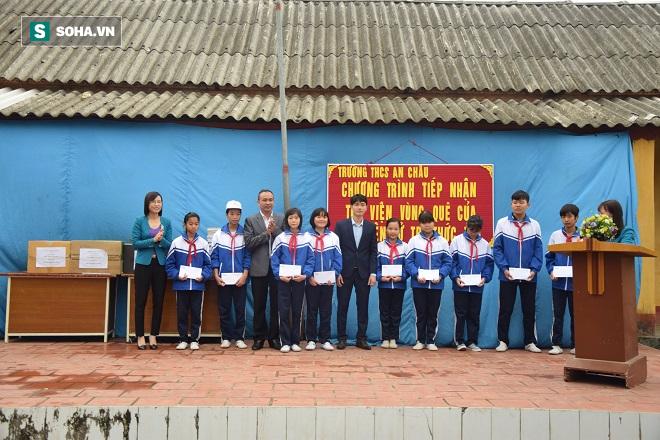 Thư viện vùng quê cho trường THCS An Châu - Thái Bình - Ảnh 5.