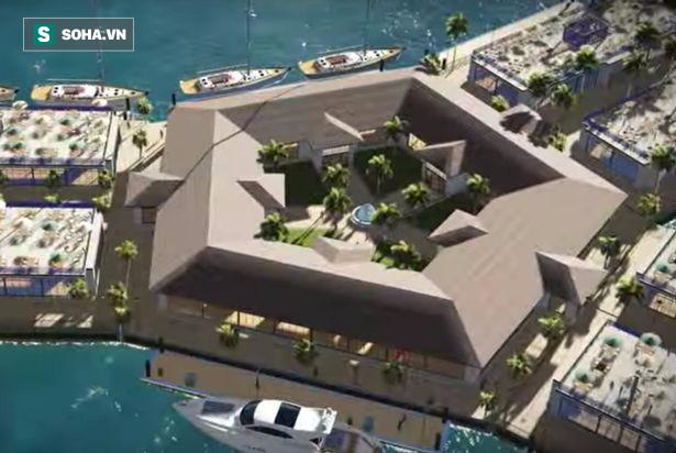 Xây dựng thành phố nổi đầu tiên trên thế giới, Pháp thách thức đại nạn nước biển dâng - Ảnh 4.