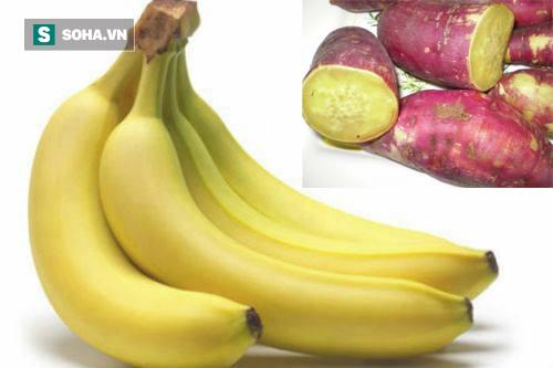 Hai quả chuối, 1 củ khoai mỗi ngày không còn nỗi lo triệu chứng đáng sợ này - Ảnh 1.