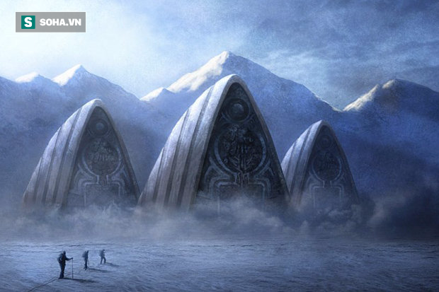 Phát hiện cầu thang khổng lồ ở Nam Cực: Nghi vấn căn cứ lạ của người ngoài hành tinh - Ảnh 1.