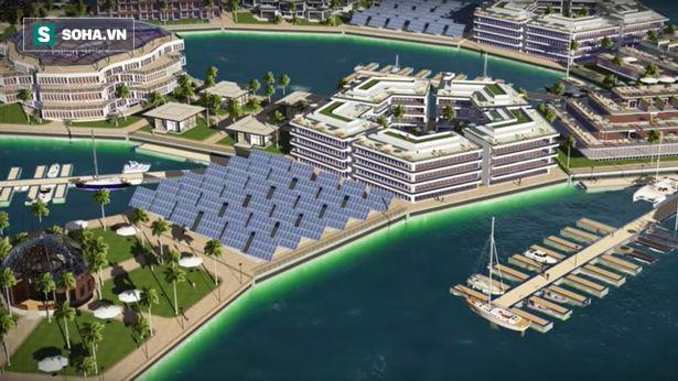 Xây dựng thành phố nổi đầu tiên trên thế giới, Pháp thách thức đại nạn nước biển dâng - Ảnh 2.