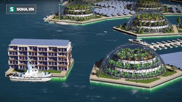 Xây dựng thành phố nổi đầu tiên trên thế giới, Pháp thách thức đại nạn nước biển dâng - Ảnh 3.