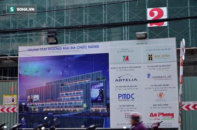 Sập tại công trình xây trung tâm thương mại ở Sài Gòn, nhiều người bị thương - ảnh 2