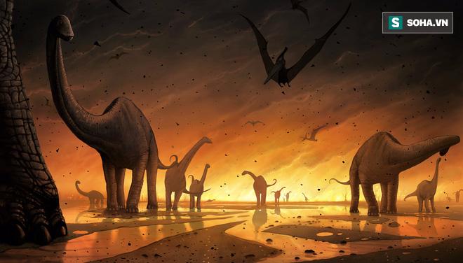 Khoảnh khắc địa ngục kinh hoàng của khủng long trước cơn tuyệt chủng tồi tệ như thế nào? - Ảnh 1.