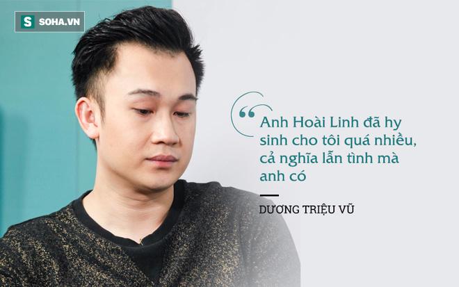 Dương Triệu Vũ khóc khi nhớ lại lời nói như trăng trối của Hoài Linh - Ảnh 4.