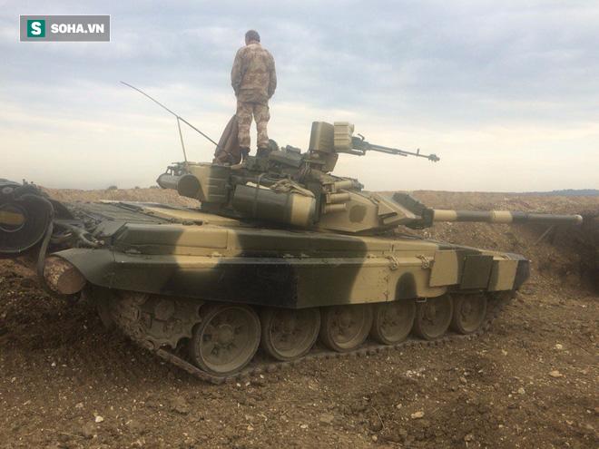 Lửa thử vàng: Không ngã qụy ở chiến trường khốc liệt Syria - Xe tăng T-90 tuyệt vời! - ảnh 2