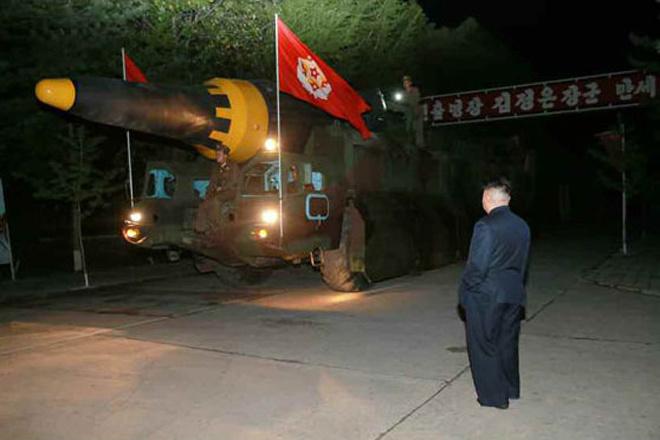 Vì sao Triều Tiên phóng tên lửa chứ không thử hạt nhân? - Ảnh 1.