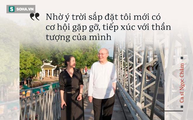 Giai nhân mới của nhạc sĩ Vũ Thành An: Nhờ ý trời sắp đặt, tôi mới có cơ hội gặp gỡ ông - Ảnh 3.