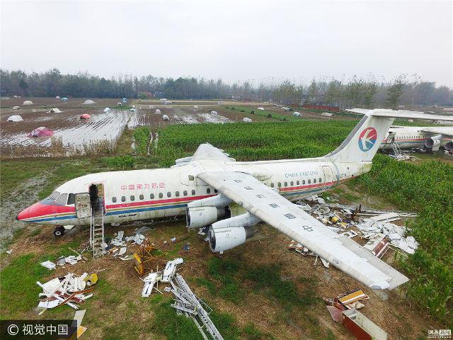 Doanh nhân Trung Quốc chi hơn 27 tỷ đồng mua máy bay cũ để cải tạo thành nhà hàng, thu hút khách du lịch về vùng quê - Ảnh 1.