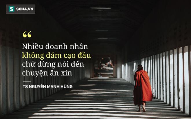 TS - doanh nhân Nguyễn Mạnh Hùng: Tại sao tôi hát rong trên phố Sài Gòn và hai lần đi khất thực? - Ảnh 4.