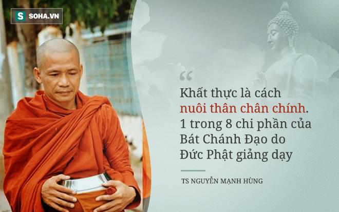 TS - doanh nhân Nguyễn Mạnh Hùng: Tại sao tôi hát rong trên phố Sài Gòn và hai lần đi khất thực? - Ảnh 1.