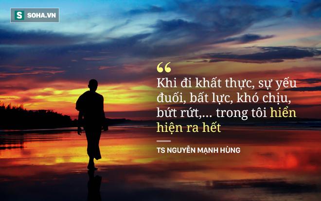 TS - doanh nhân Nguyễn Mạnh Hùng: Tại sao tôi hát rong trên phố Sài Gòn và hai lần đi khất thực? - Ảnh 3.