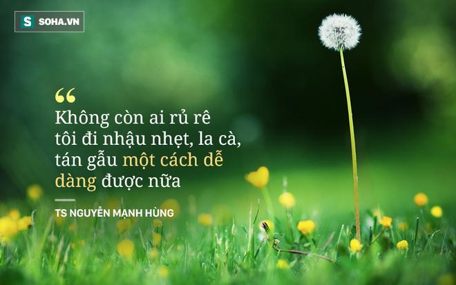 TS - doanh nhân Nguyễn Mạnh Hùng: Tại sao tôi hát rong trên phố Sài Gòn và hai lần đi khất thực? - Ảnh 5.
