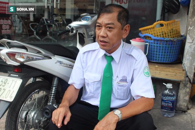 Tài xế taxi kể chuyện tông thẳng vào tên cướp giật đồ của 1 phụ nữ - Ảnh 2.