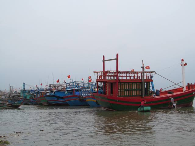 Nhiều tàu cá hỏng máy trên đường tránh bão số 10 cần cứu nạn khẩn cấp - Ảnh 1.